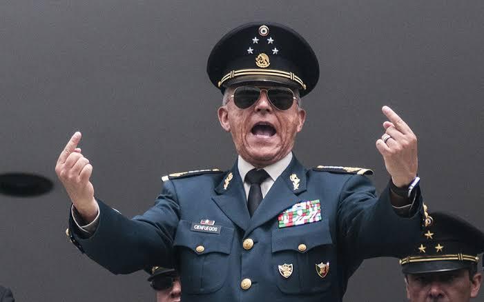 FGR determina no ejercer acción penal contra el General Salvador Cienfuegos
