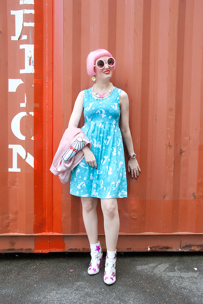 mermaid outfit, disney dress, cute blogger look