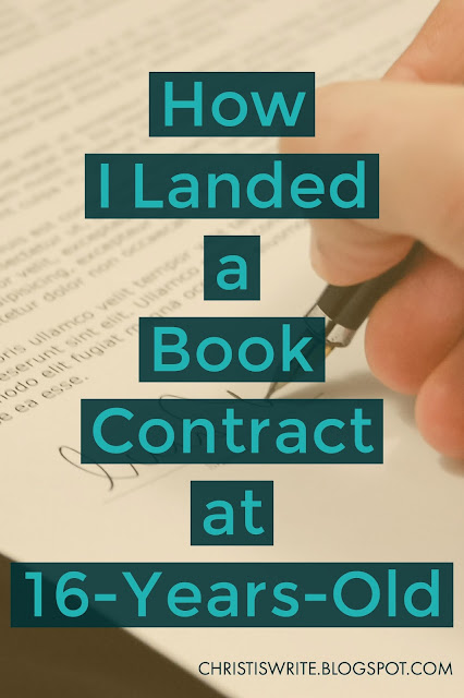 How I Landed a Book Contract at 16-Years-Old