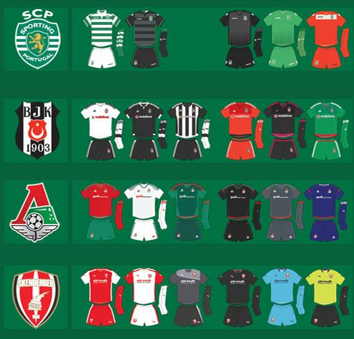 2015-16 Europa League Kits Overview - All 131 Europa