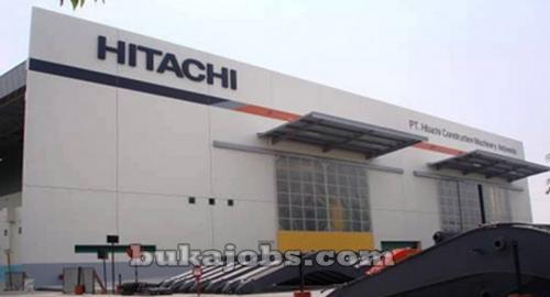 Lowongan Kerja  PT Hitachi Construction Machinery Indonesia Cibitung 2018
