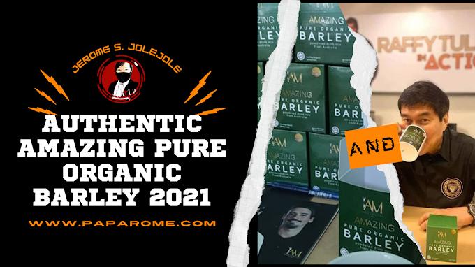 Authentic Amazing Pure Organic Barley 2021