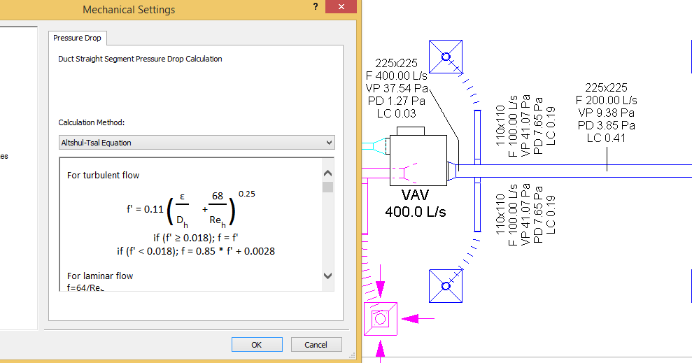 Revit Recess: MEP Pressure Drop and Duct & Pipe System Calculations