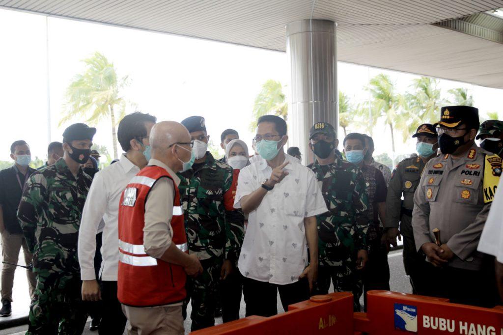 Bandara Hang Nadim Batam Menjadi Lokasi Ke 12 Dari Program Kampung Tangguh