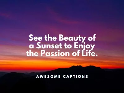 sunset love quotes