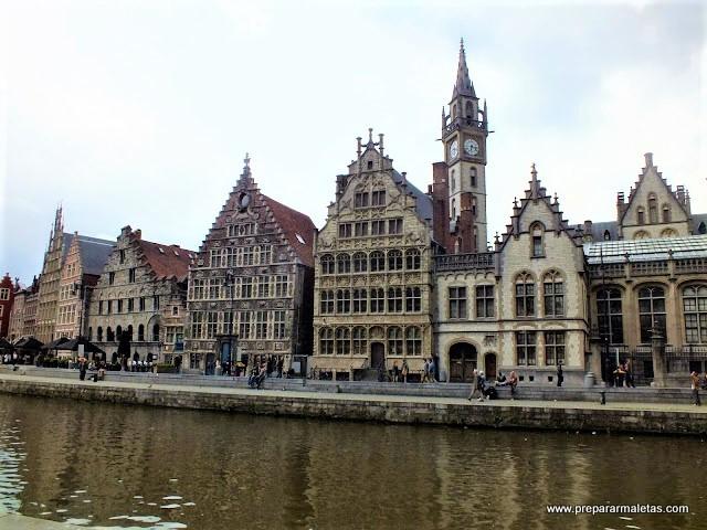 visitar casco histórico de Gante