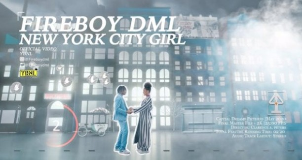 VIDEO: Fireboy DML - New York City Girl (Mp4 Download)