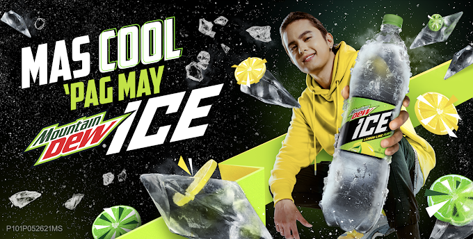 """James Reid and Mountain Dew Ice in viral parody videos for  """"mas cool pag may Mountain Dew Ice!"""" campaign"""