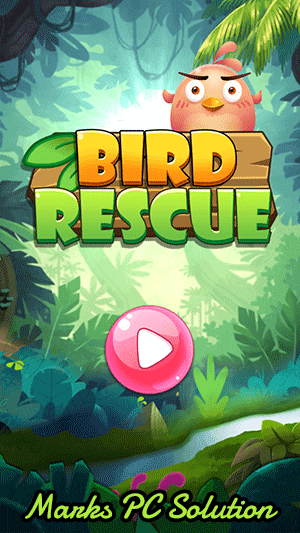 Bubble Shooter Bird Rescue