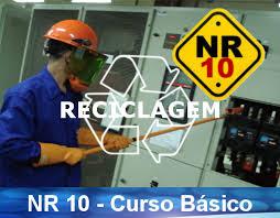 Curso Online de Reciclagem NR10 - Trabalho que envolva eletricidade.