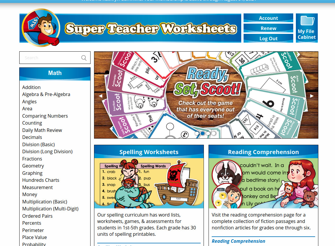 Cummins Life Super Teacher Worksheets Review Printable