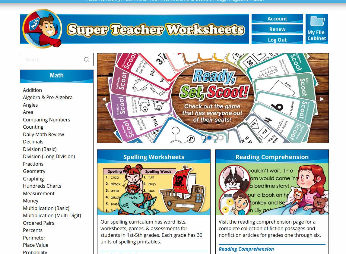 Cummins Life Super Teacher Worksheets Review Printable