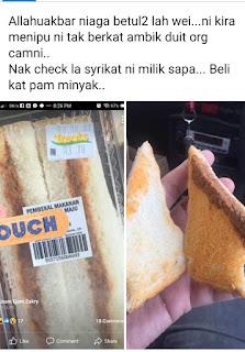 2 idea sandwich yang mudah untuk sarapan pagi   Telur dan Sardin