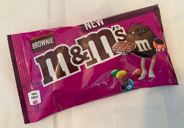 New UK M&Ms Brownie Edition