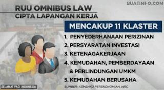 Buat Info - Dampak Positif dan Negatif Omnibus Law UU Cipta Kerja