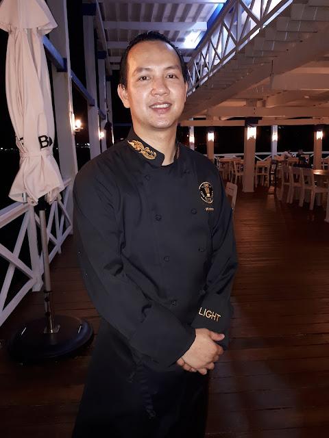 El chef Light Wattanakamin.