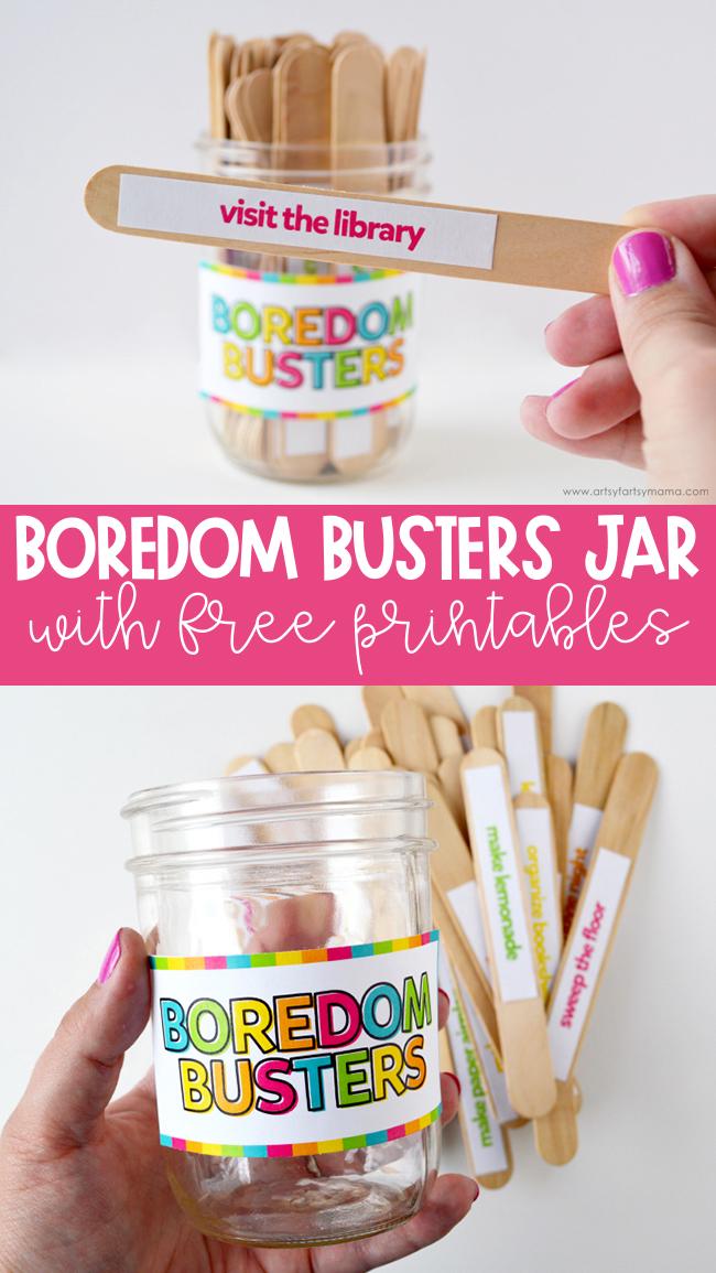 Boredom Busters Jar