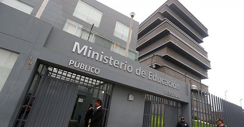 MINEDU informa que no autoriza ceremonias ni fiestas de graduación en colegios