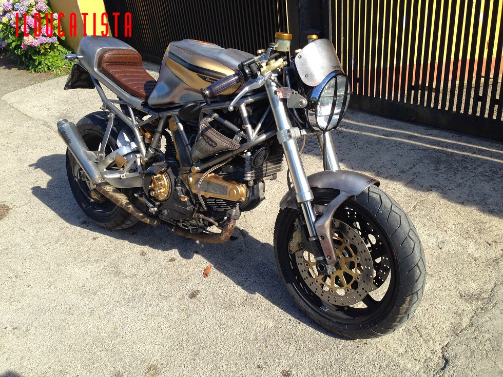 Cupolino Cafe Racer Monster Idea De Imagen De Motocicleta