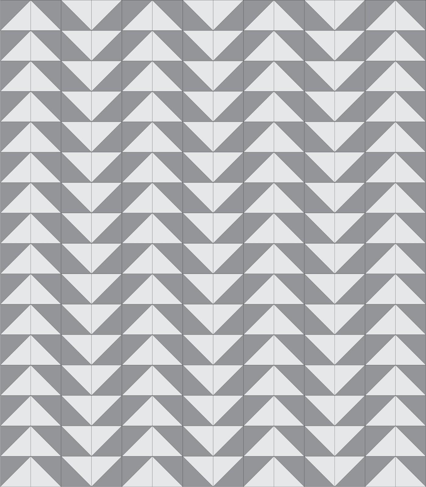 quilt triangle block