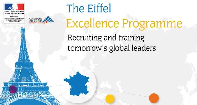 500 منحة إيفل تقدمها  الحكومية الفرنسية للطلاب الدوليين من جميع أنحاء العالم | ممولة بالكامل