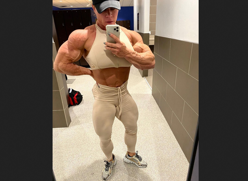 Building More Lean Muscle Mass example Aleesha Young