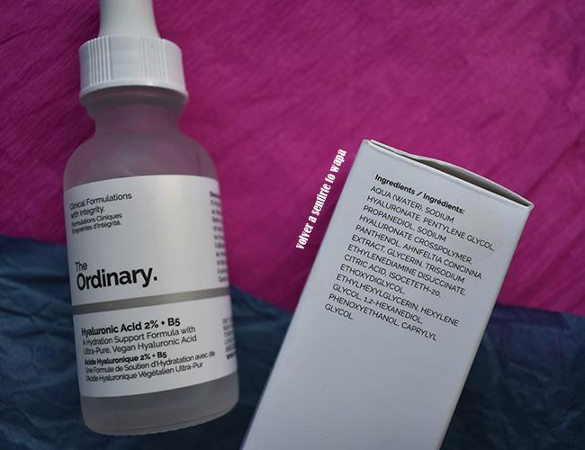 The Ordinary: Hyaluronic Acid 2% + B5