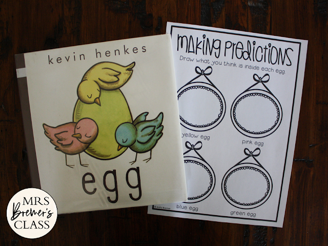 Egg a Kevin Henkes literacy unit with Common Core aligned companion activities grades K-1