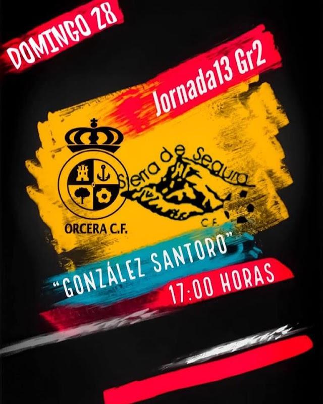 SENIOR:Previa J13 ORCERA CF – SIERRA SEGURA CF