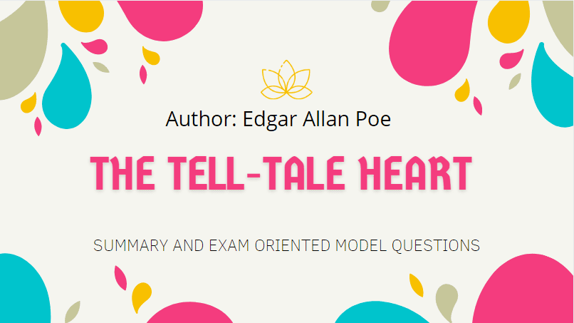 The Tell-Tale Heart Summary | Heritage Of Words | Class XII English Summary
