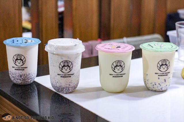 Yogost Drinks - Strawberry Yogurt, Classic Yogurt Purple Rice