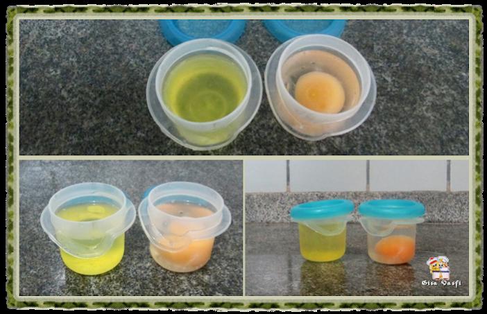 Congelando ovos 1