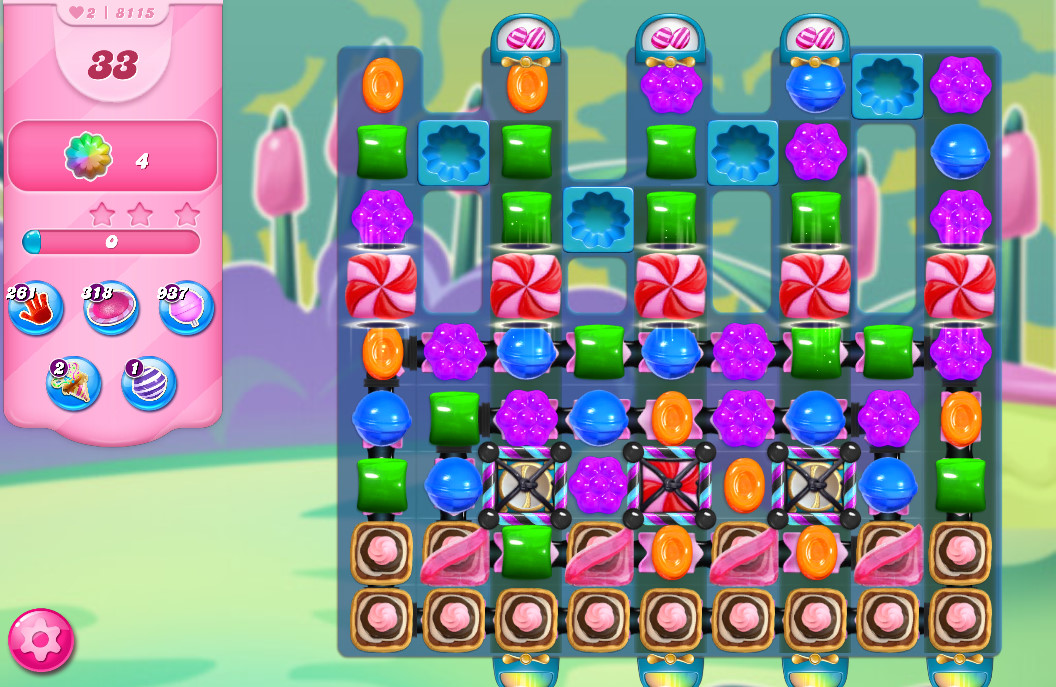 Candy Crush Saga level 8115