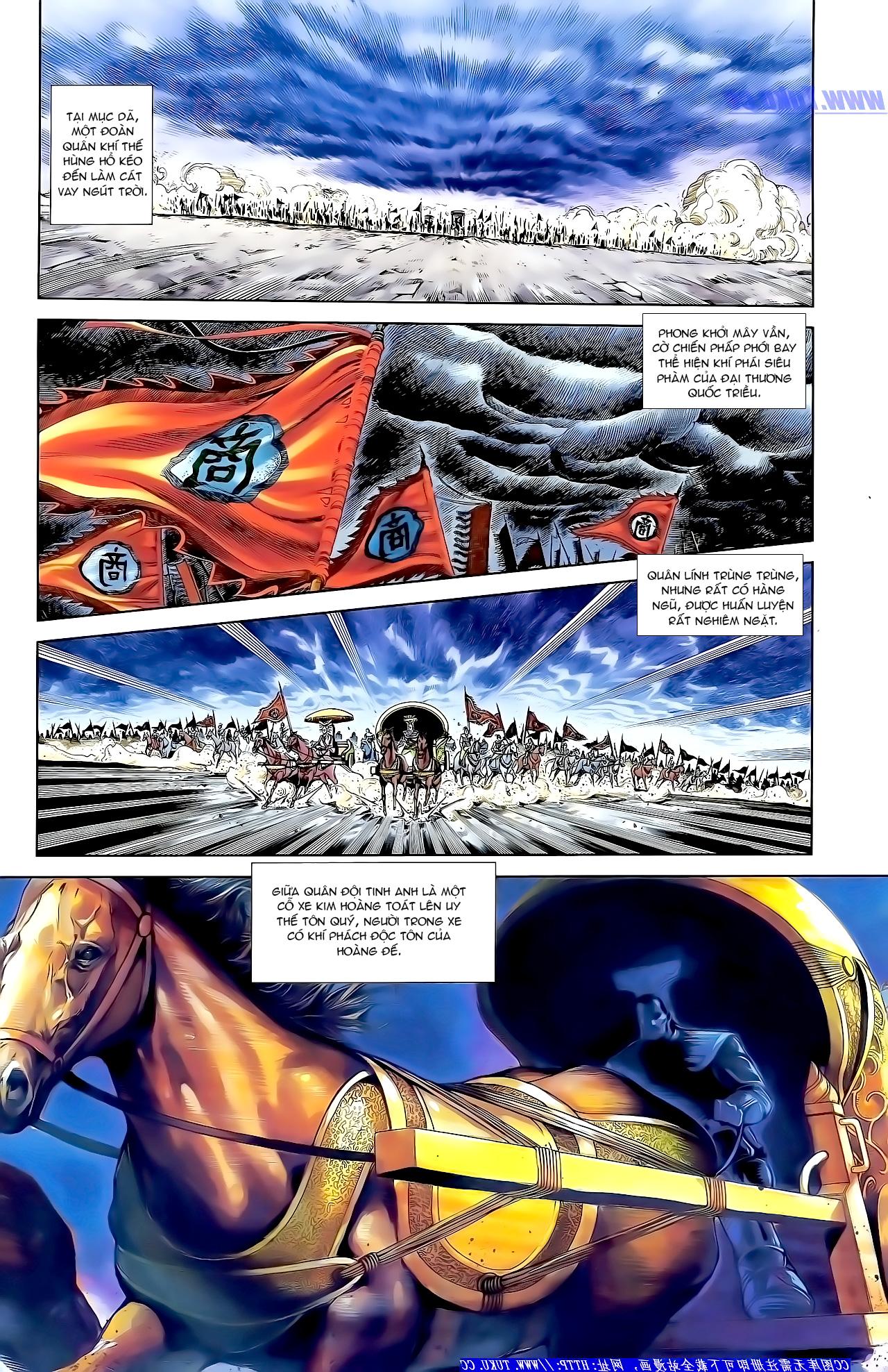 Cơ Phát Khai Chu Bản chapter 157 trang 3