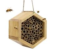 rumah lebah bambu