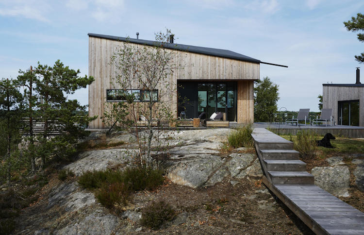 A Striking Swedish Cabin On The Island of Ingarö