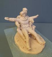 sculture personalizzate soprammobili idee regalo trasloco nuova casa orme magiche