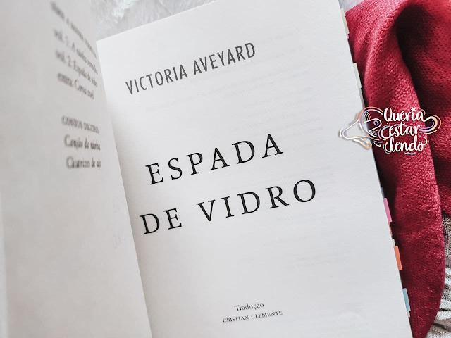 Resenha: Espada de Vidro - Victoria Aveyard