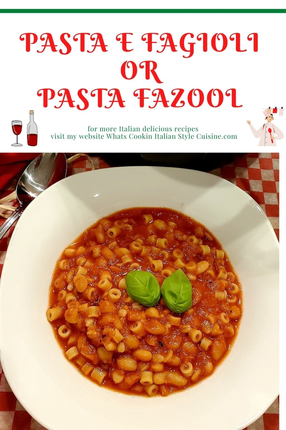 this is a pin for later how to make pasta fagioli and italian pasta with white beans