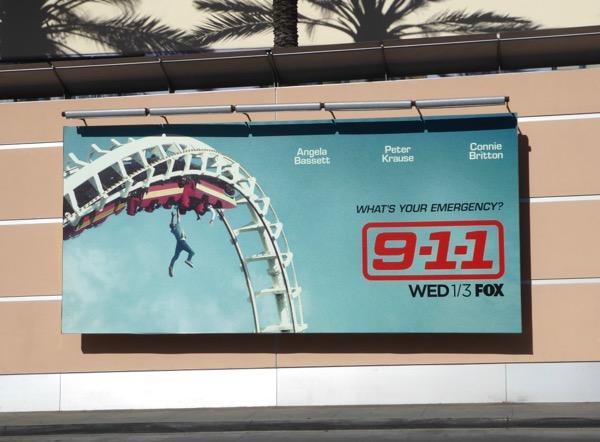 911 rollercoaster billboard