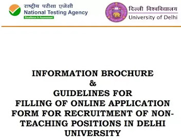 Apply For 1149 Non-Teaching Staff Vacancy In Delhi University