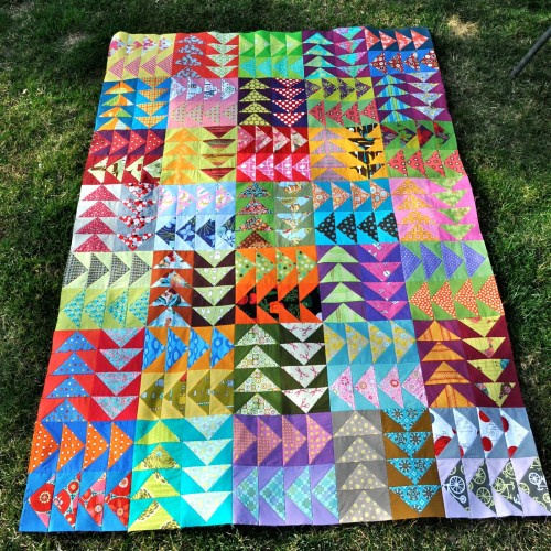 Perfect Flying Geese Quilt - Tutorial