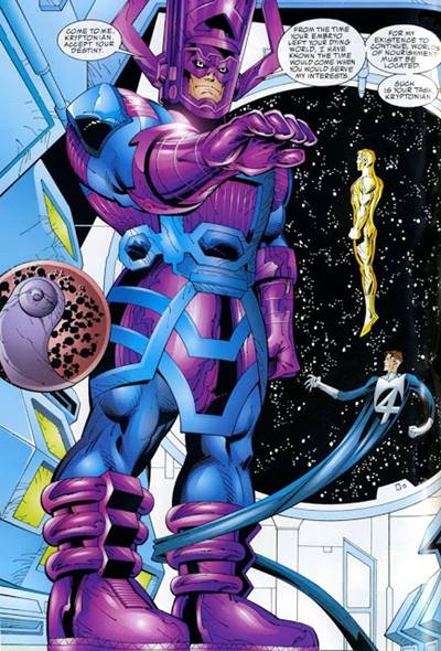 Superman ha sido heraldo de Galactus en un Elseworlds