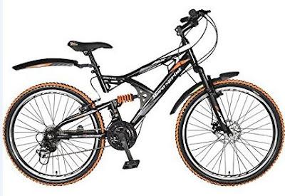 Hero RX2-21S-RD-OR 26T Speed Steel Sprint Bicycle