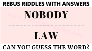 Rebus Puzzles | Can you guess the hidden meaning of the Picture?