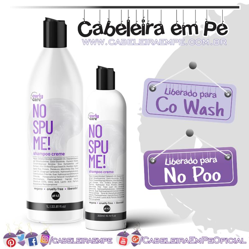 Shampoo Creme No Spume - Curly Care (No Poo)