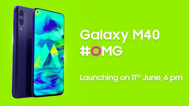 Samsung Galaxy M40 all specs revealed coming with Snapdragon 635 SoC. June 11th launch date in India