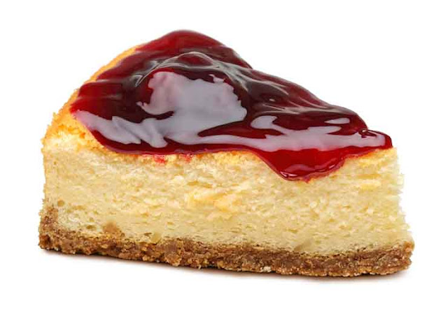 Cheesecake on toast