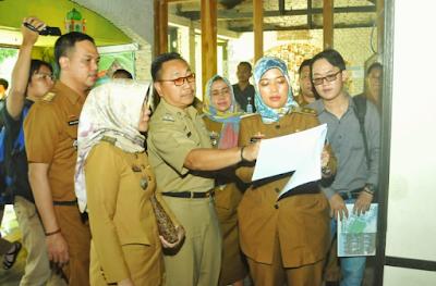 Wakil Gubernur Lampung Chusnunia Chalim Tinjau Calon Lokasi Kafe Pelayanan Publik