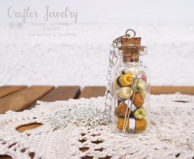 biżuteria druty i motki